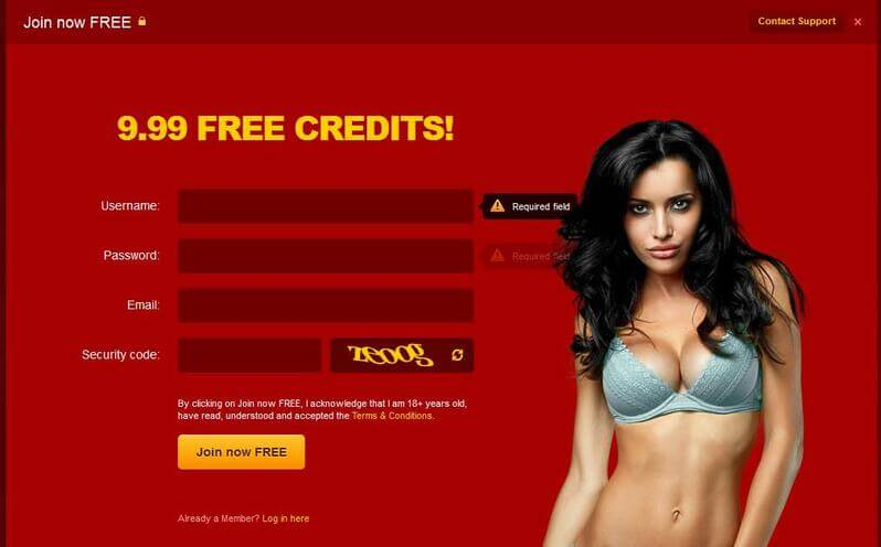 LiveJasmin.com registration