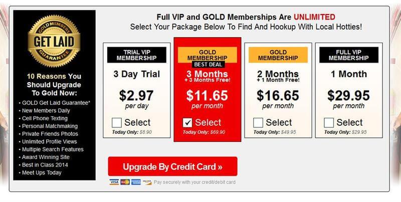 Membership upgrade