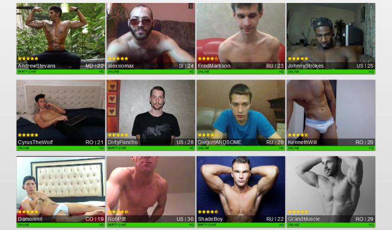 Juicy men on live sex cams
